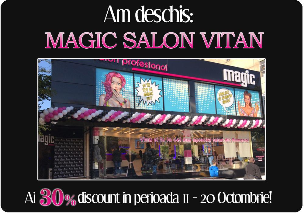 Saloanele Magic Salon Infrumusetare Salon Coafura Salon